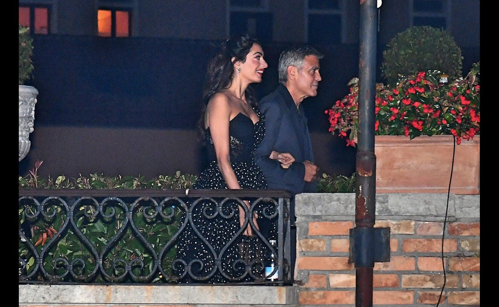 George and Amal Clooney at Venice 2017