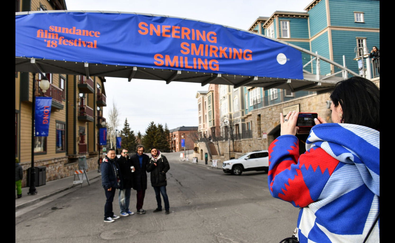 Sundance 2018 street ambiance
