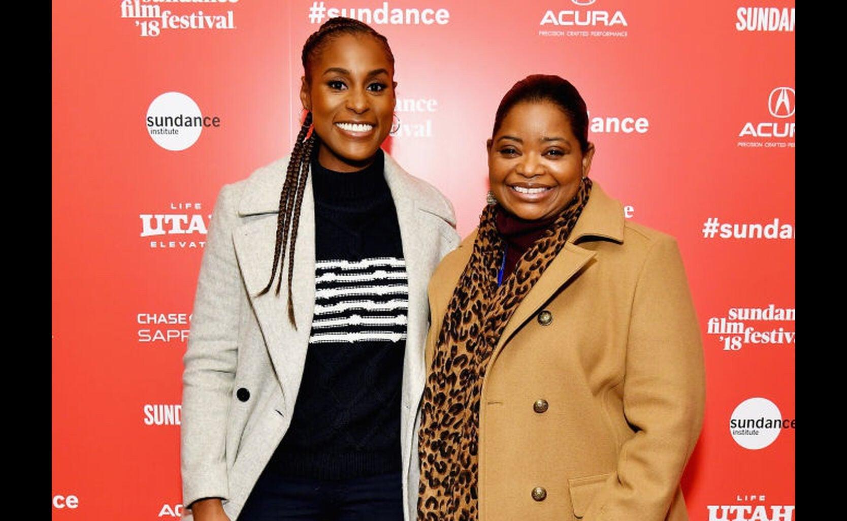 Issa Rae and Octavia Spencer in Sundance 2018
