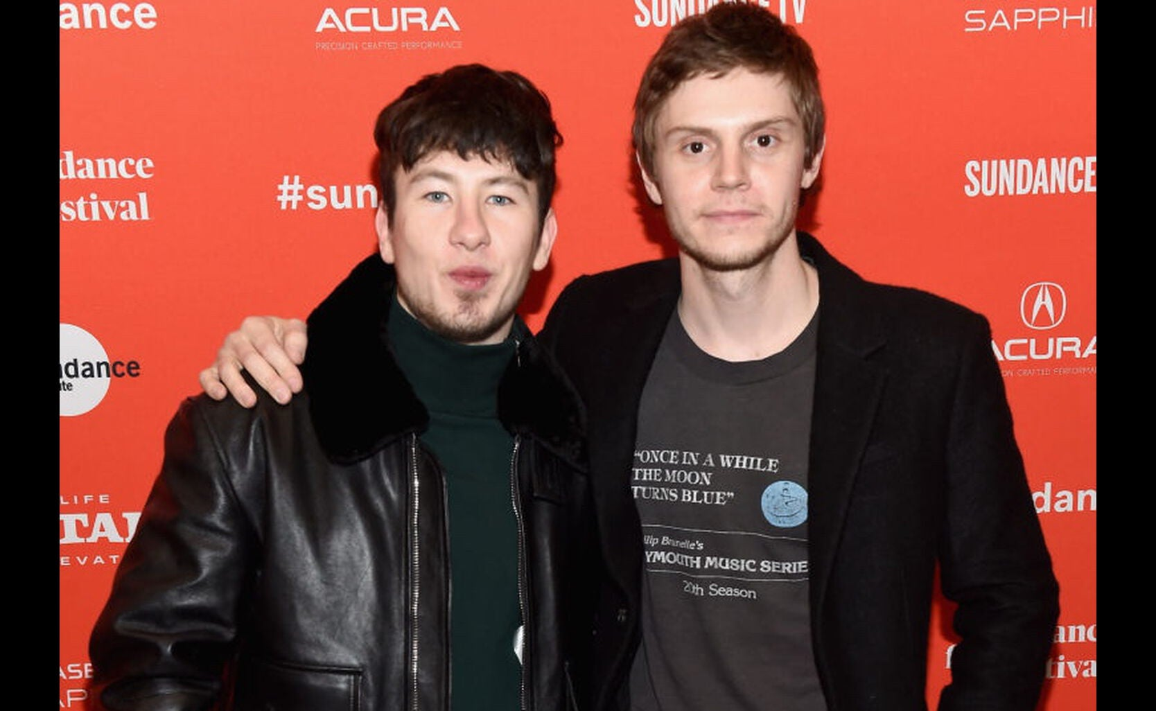 Barry Keoghan and Evan Peters at Sundance 2018