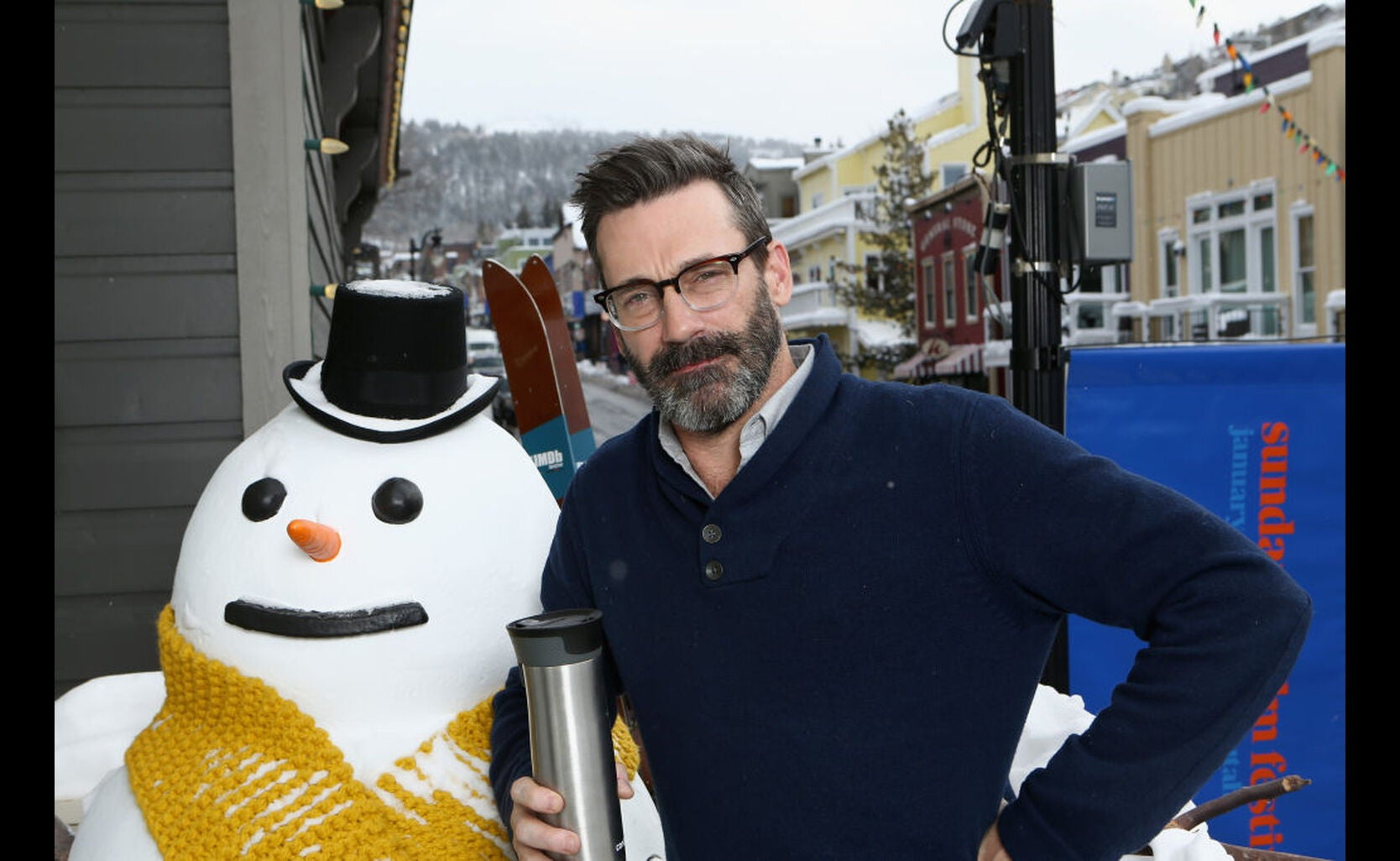 actor Jon Hamm at Sundance 2018