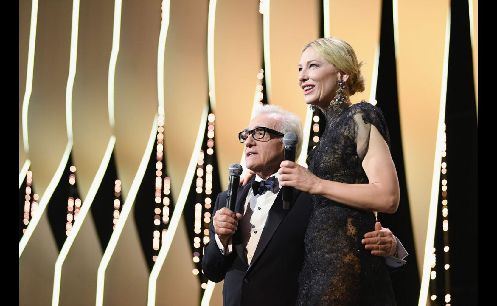 Martin Scorsese and Cate Blanchett at the 2018 Cannes Film festival