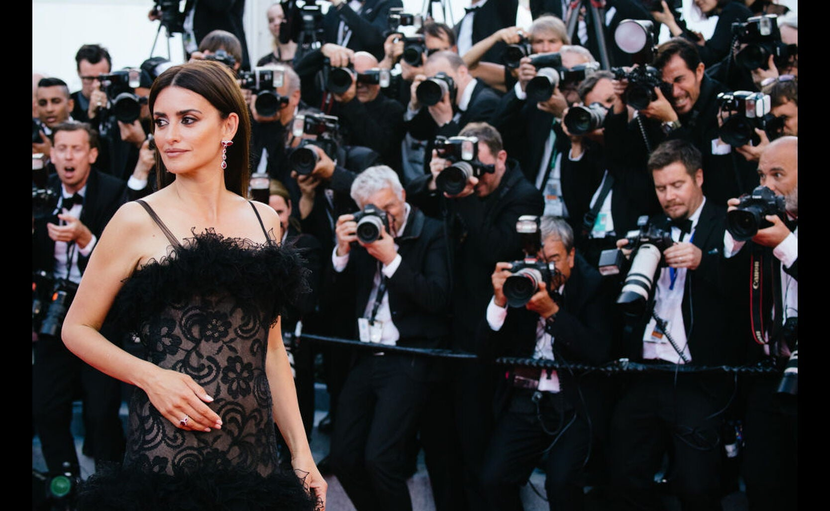 Penelope Cruz at the 2018 Cannes Film festival