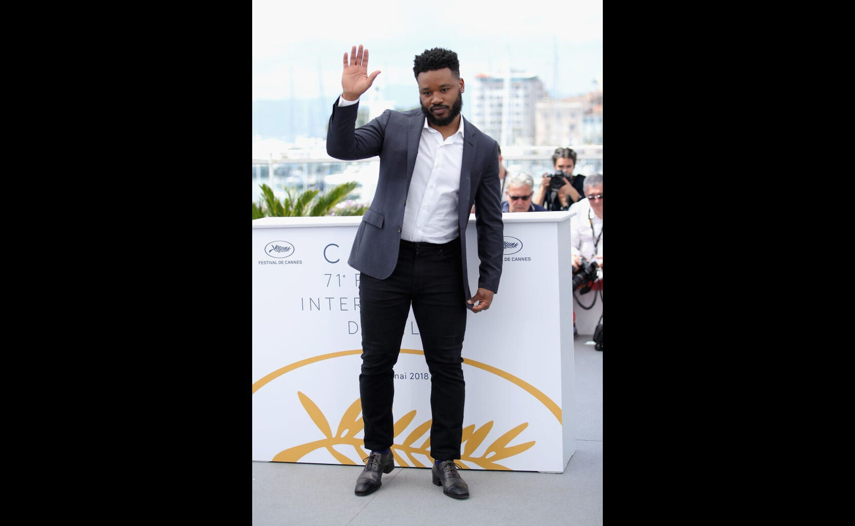 Filmmaker Ryan Coogler in Cannes 2018