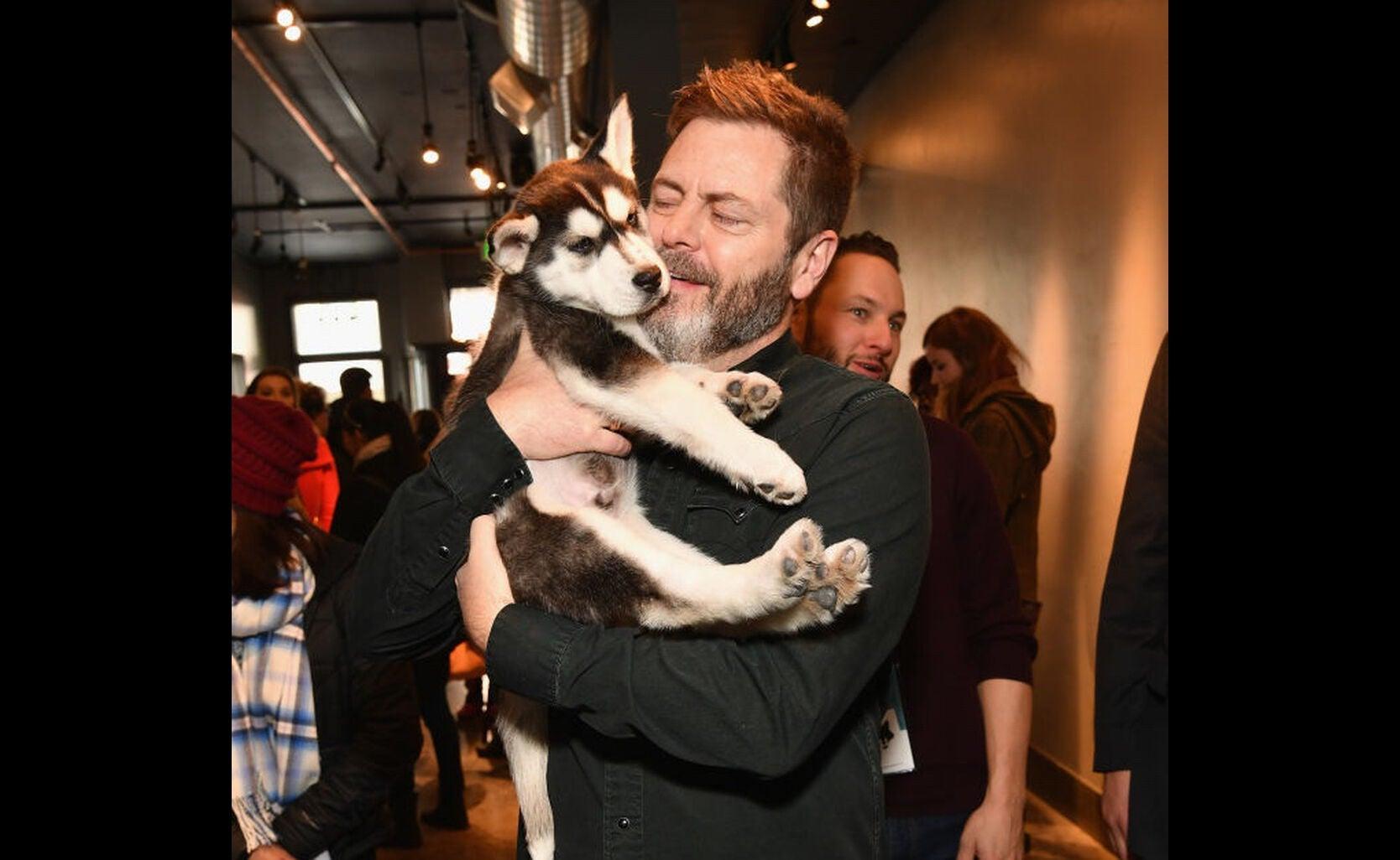 Actor Nick Offerman at Sundance 2018