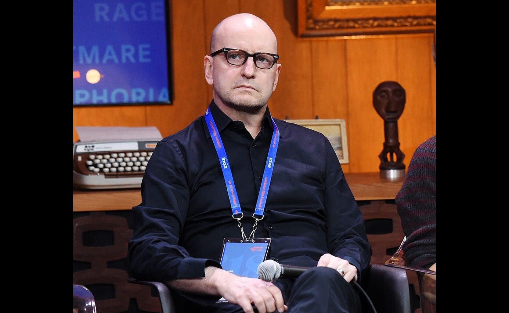 Filmmaker Steve Soderbergh at Sundance 2018