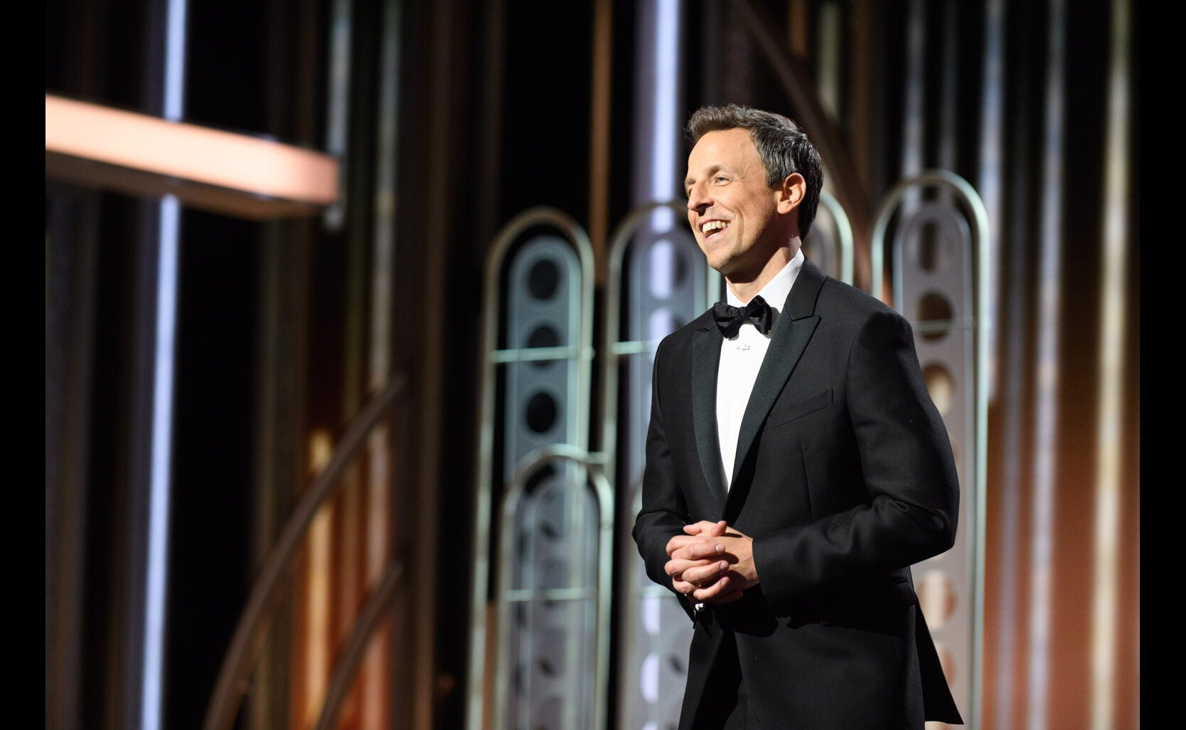 Host Seth Meyers, 75th Golden Globes