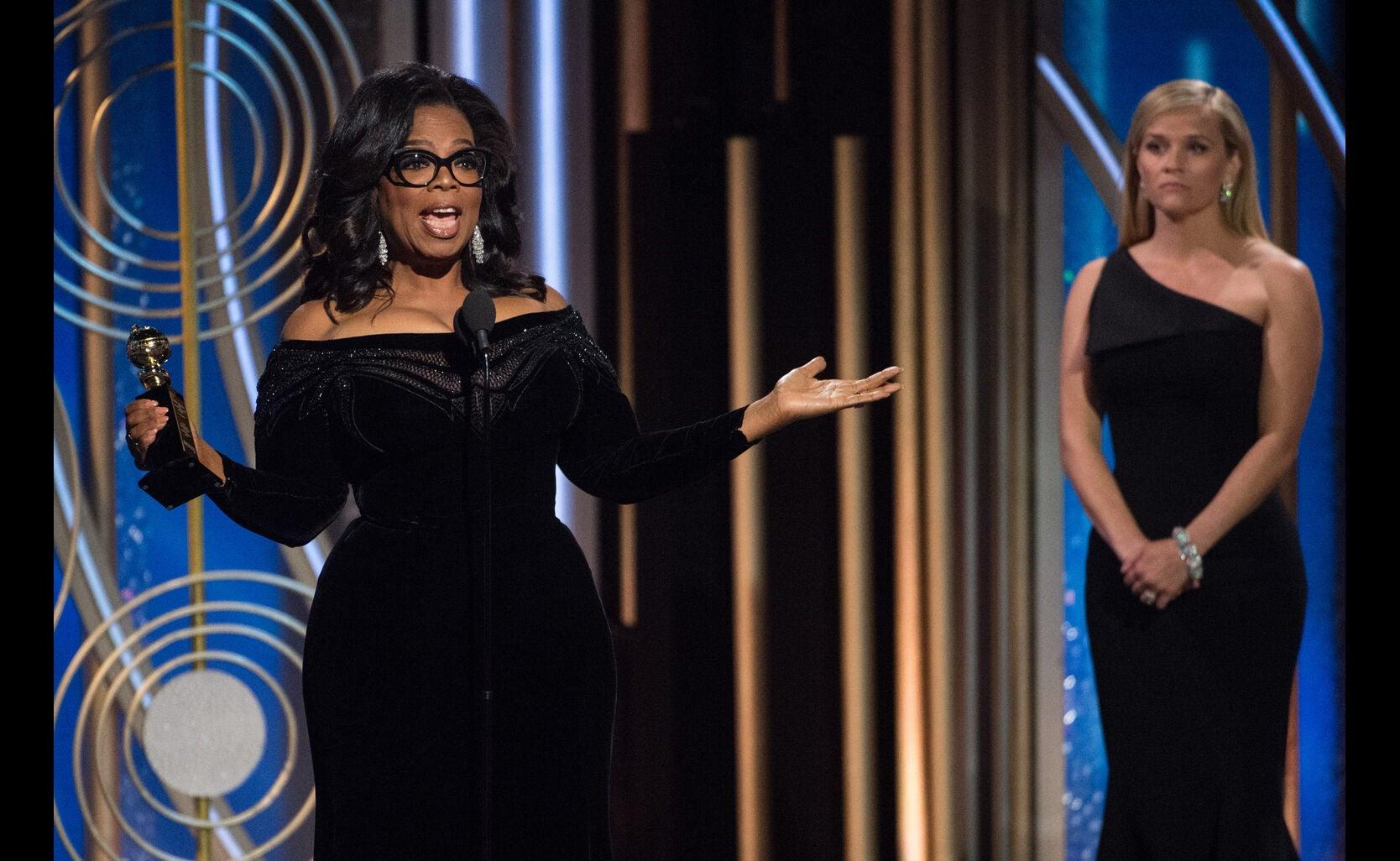 Oprah Winfrey, Cecil B. deMille recipient