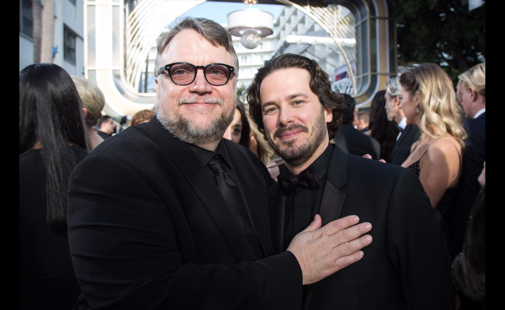 Guillermo del Toro and EDgar Wright