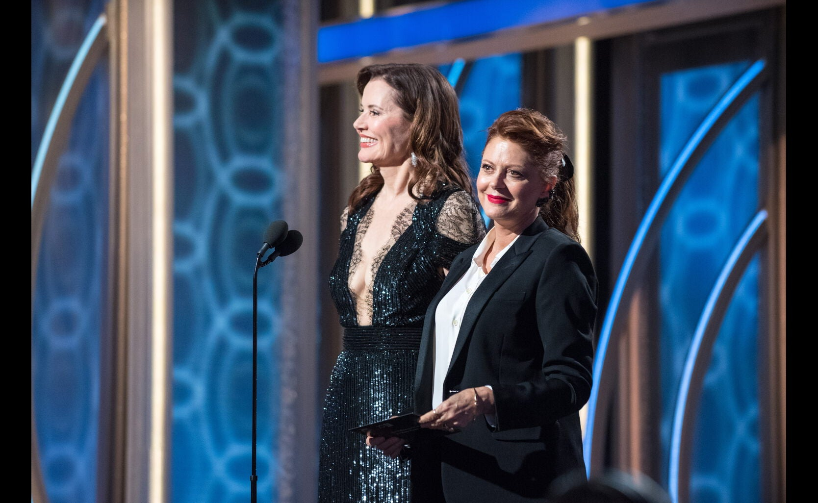 Susan Sarandon and Geena Davis