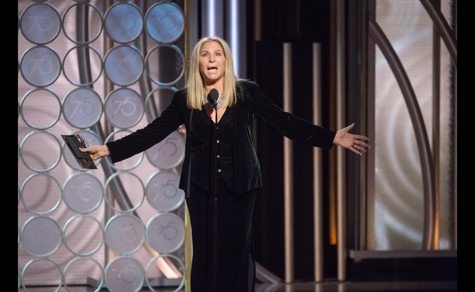 Barbra Streisand, Golden Globe winner