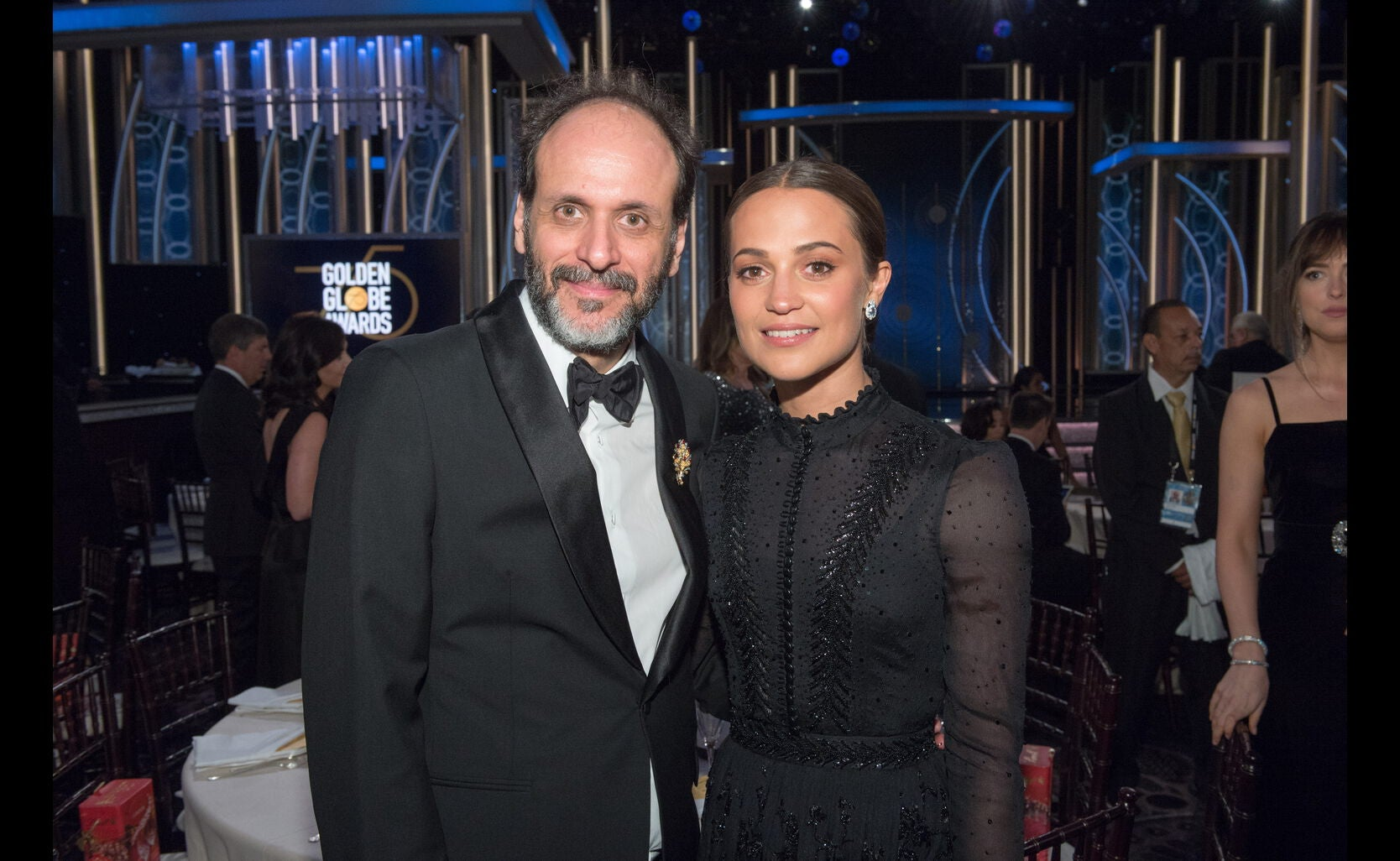 Director Luca Guadagnini, Actress ALicia Vikanfder