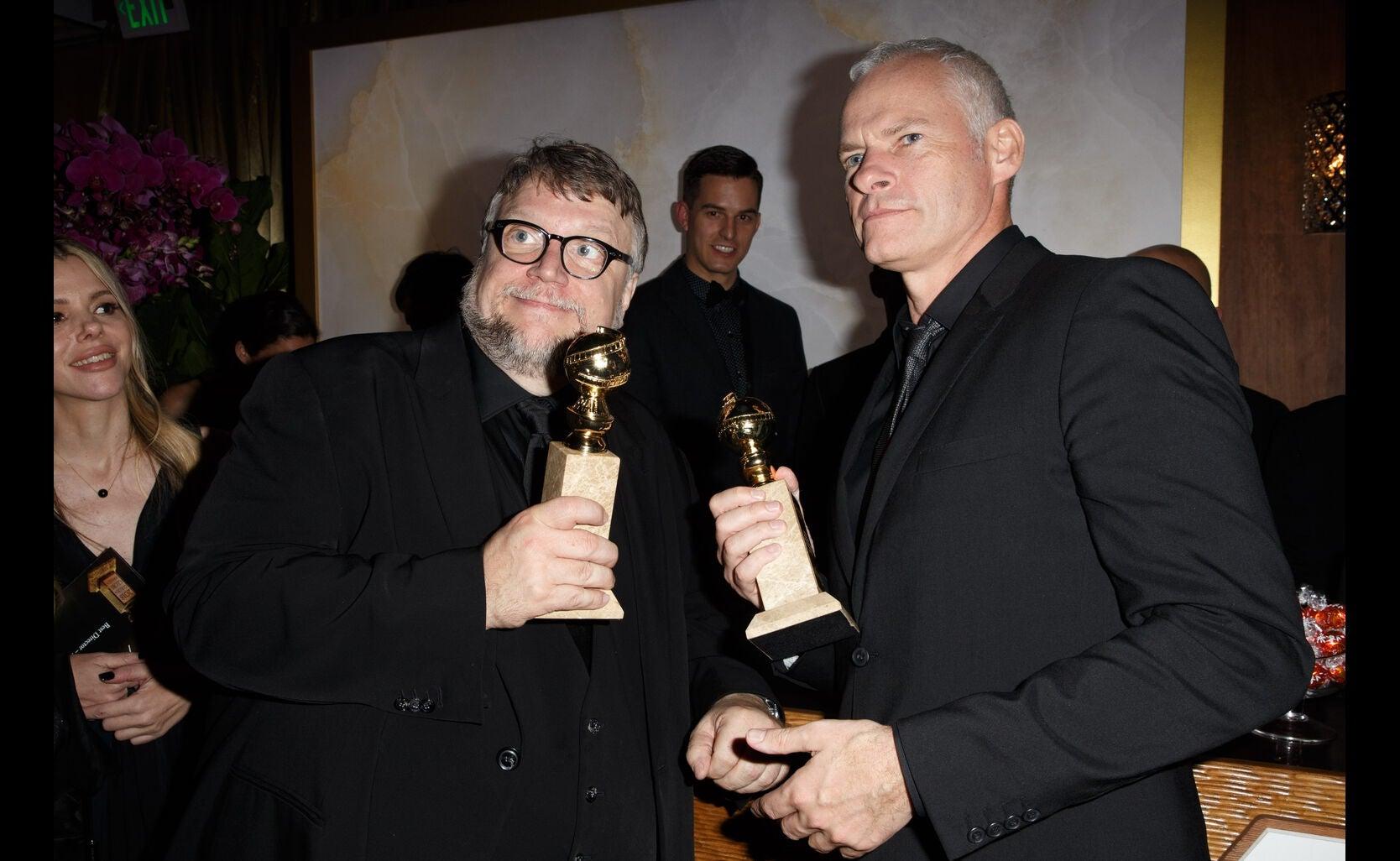 Directors Gui;lermo del Toro and Martin McDonagh