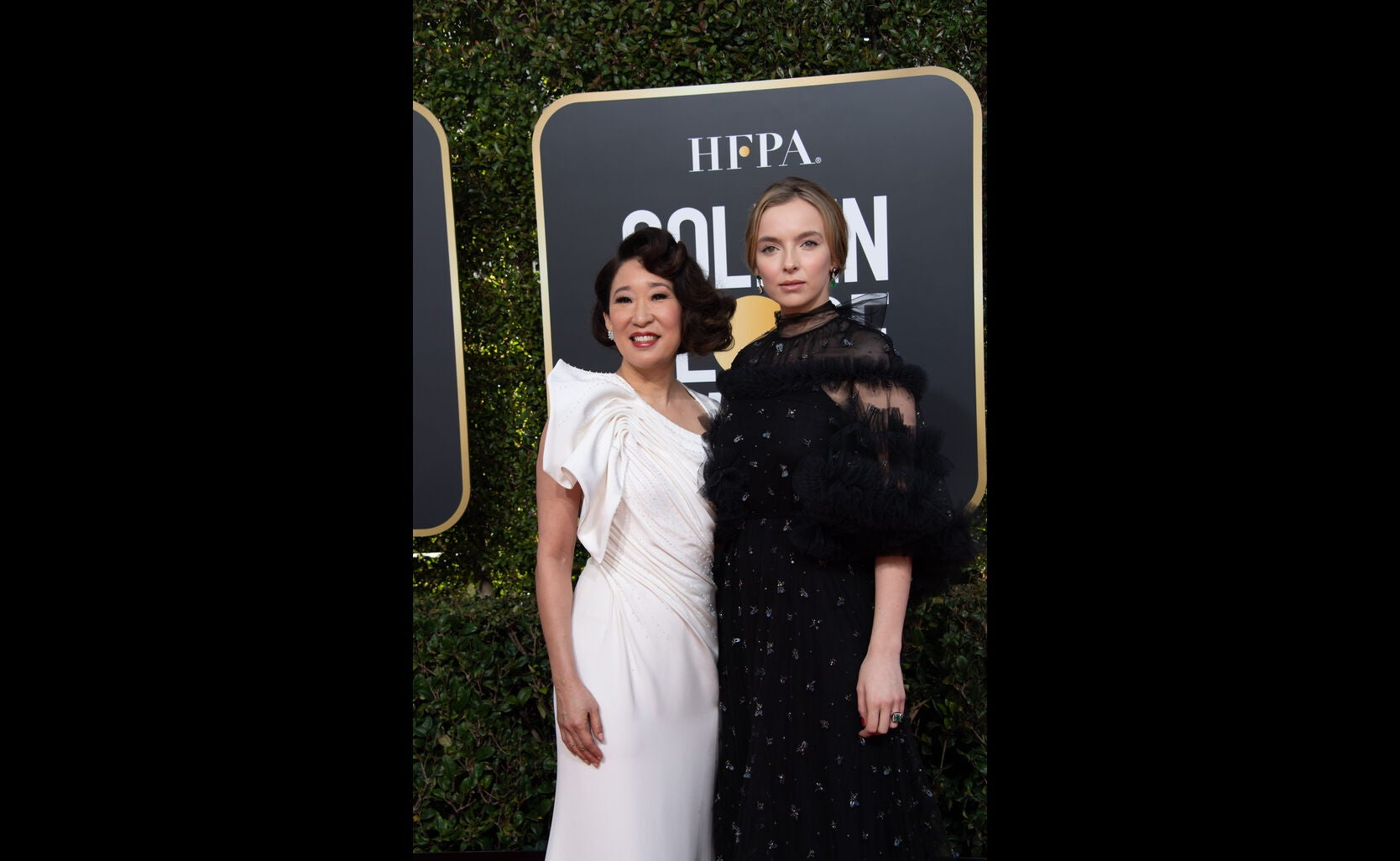 Sandra Oh and Jadie Comer