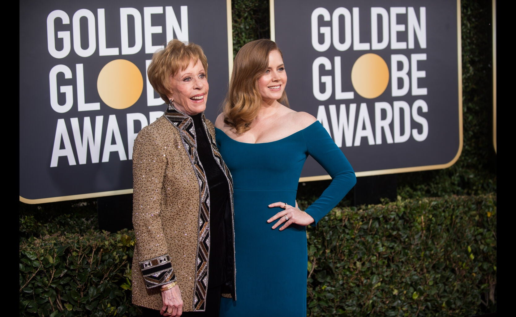 Amy Adams and Carol Burnett