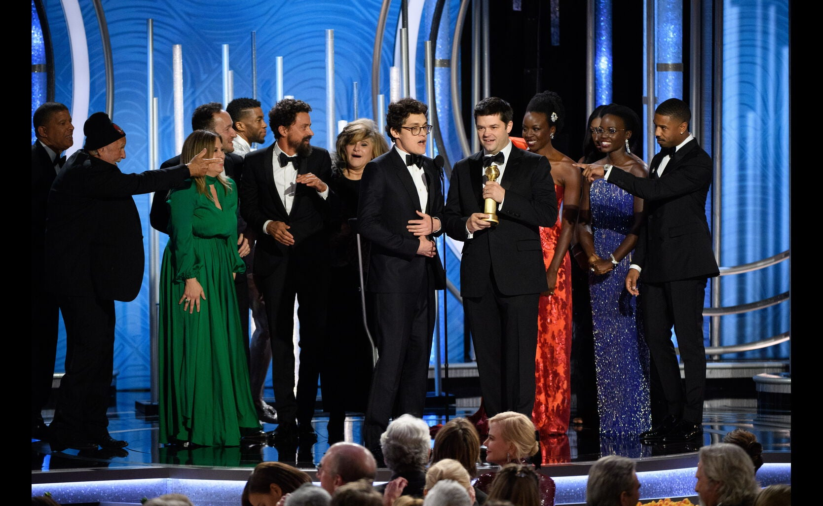 """""""Spider-Man into the Spider-Verse"""" at the 2019 Golden Globes"""