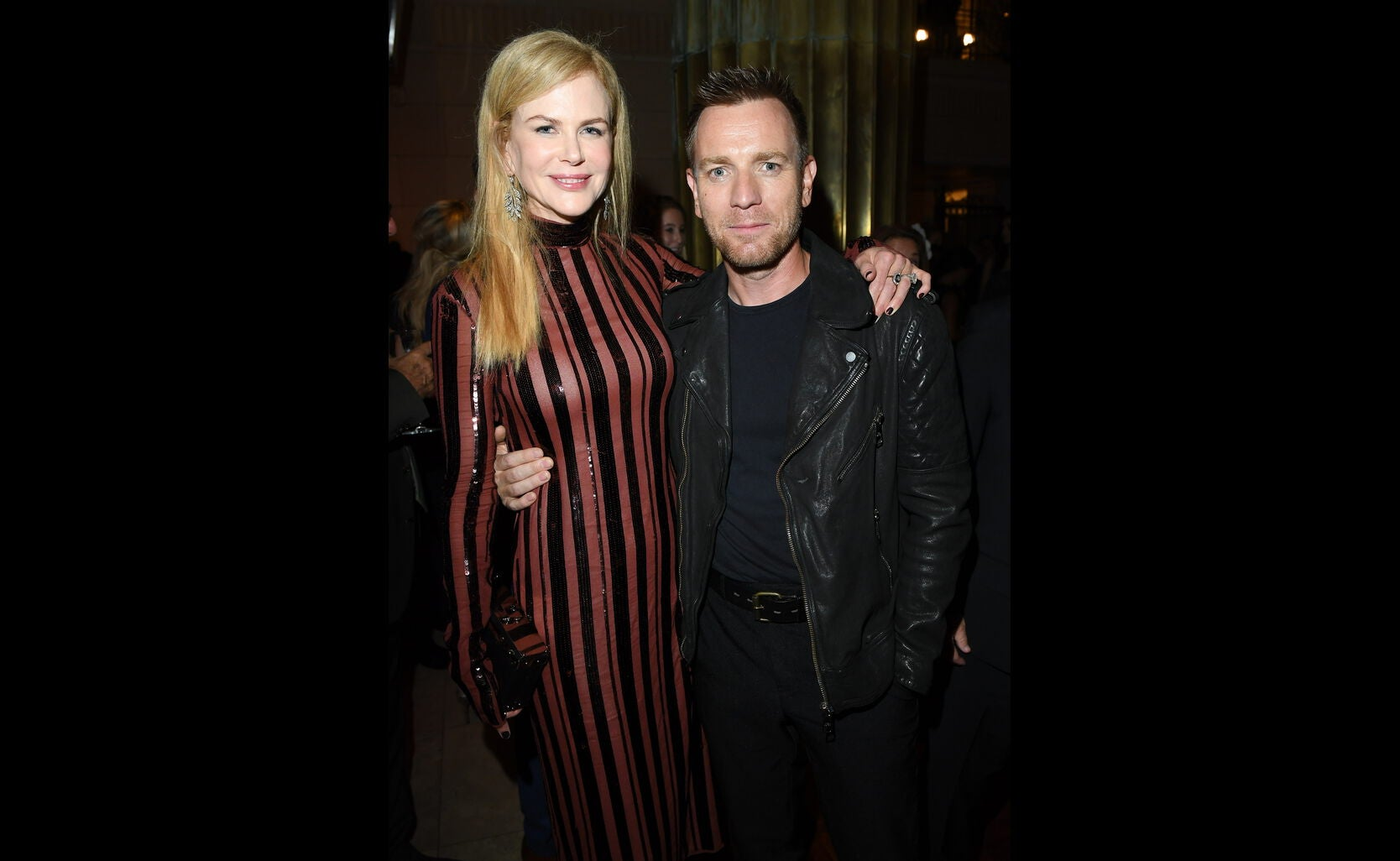 Golden Globe nominee Ewan McGregor and Golden Globe winner Nicole Kidman at the HFPA/InStyle party, Toronto 2016
