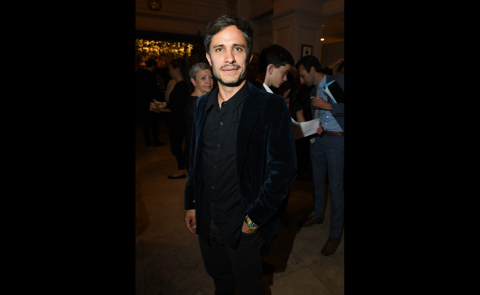 Golden Globe winner Gael Garcia Bernal at the HFPA/InStyle party, Toronto 2016