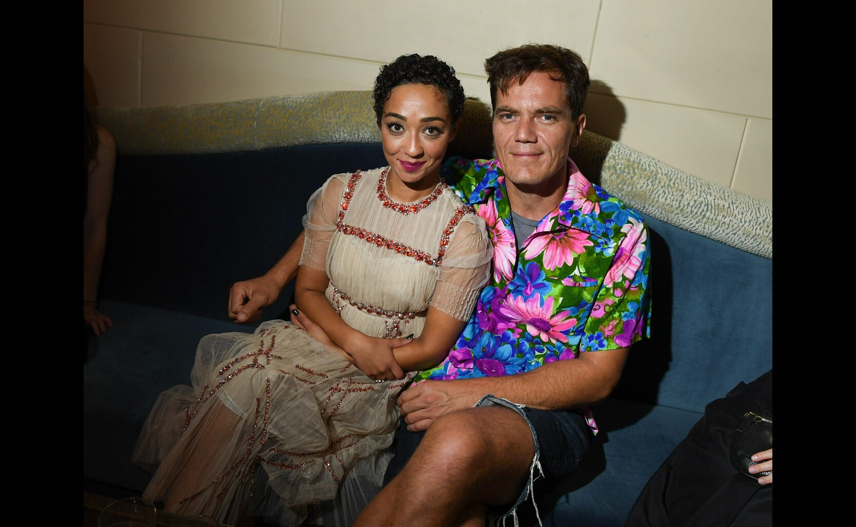 Michael Shannon and Ruth Negga at the HFPA/InStyle party, Toronto 2016