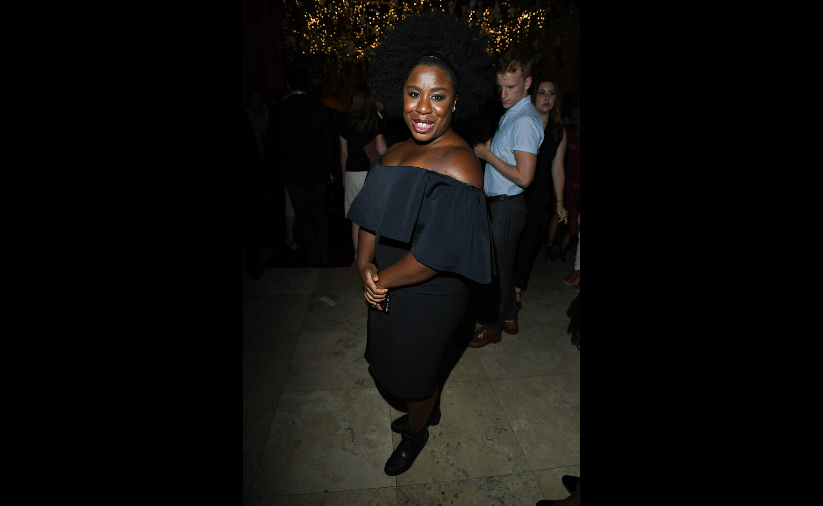 Golden Globe nominee Uzo Aduba  at the HFPA/In Style party, Toronto 2019=6