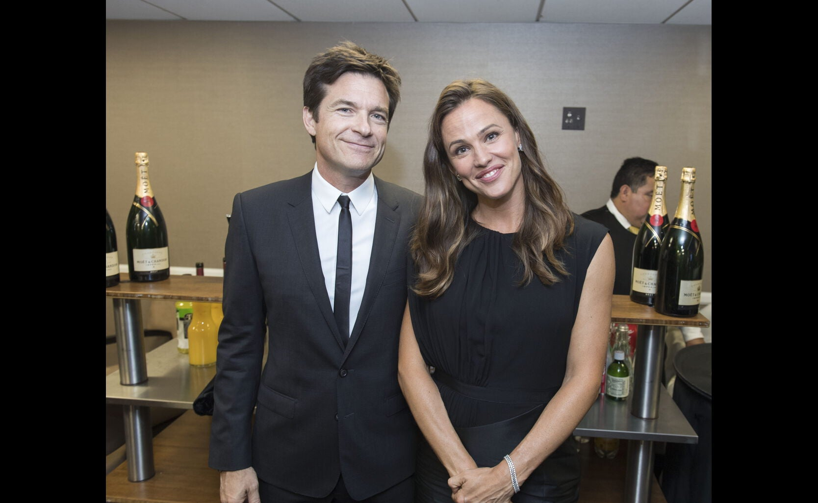 Jennifer Gardner and Jason Bateman