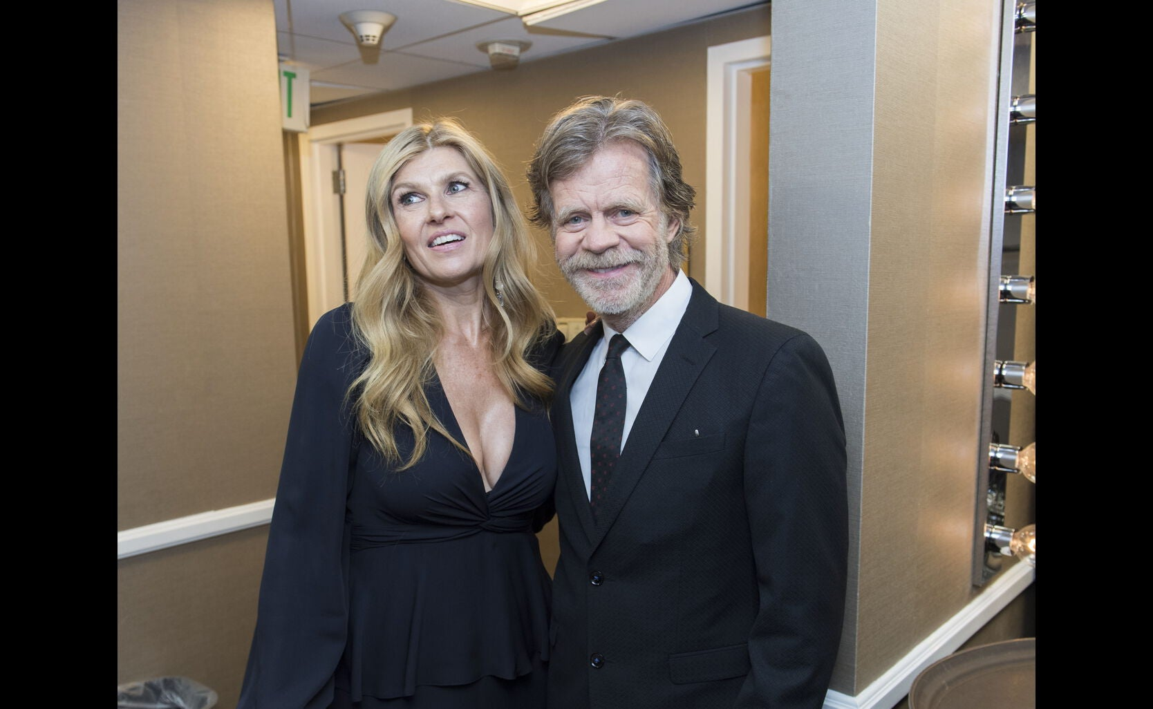 Connie Britton and William H. Macy