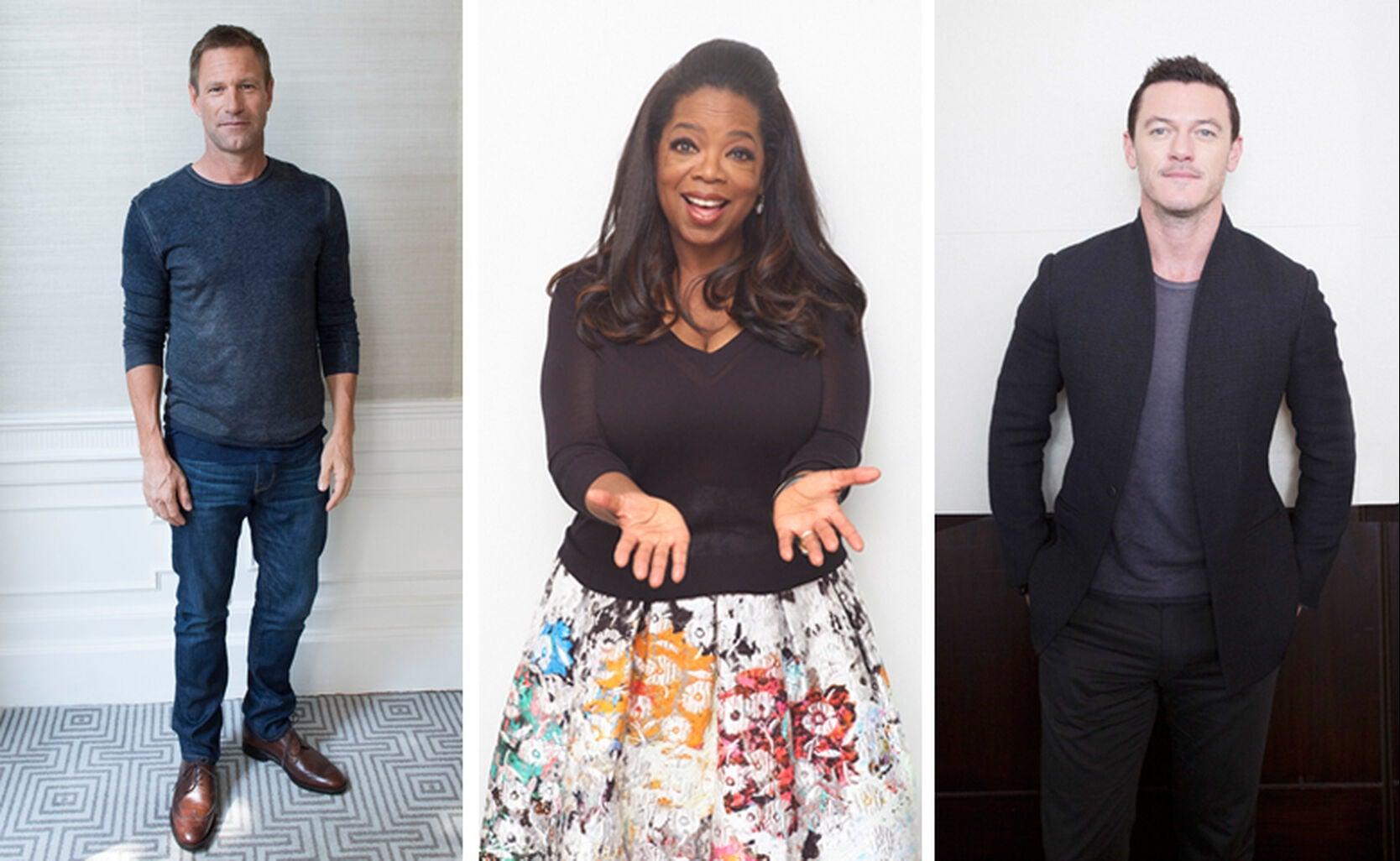 Liev Schreiber, Oprah Winfrey and Luke Evans