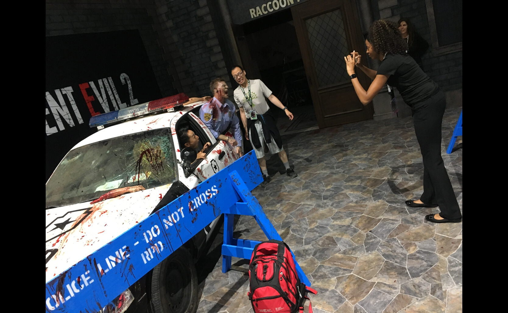 Resident Evil prop at Comic-Con 2018