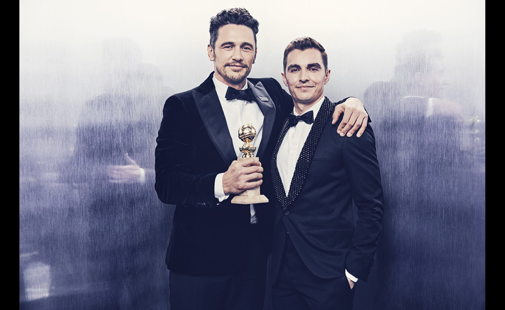 James Franco (in the photo with Dave Franco), Best Performance by an Actor ina  Motion Picture, Musical or Comedy- The Disaster Artist