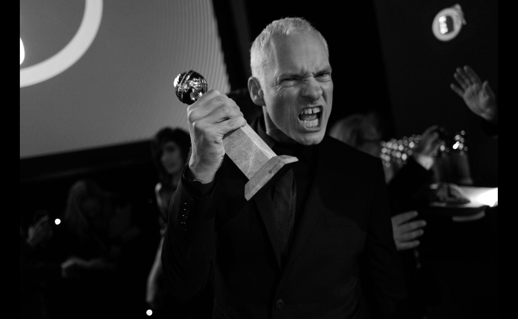 Filmmaker Martin McDonagh. Golden Globe winner