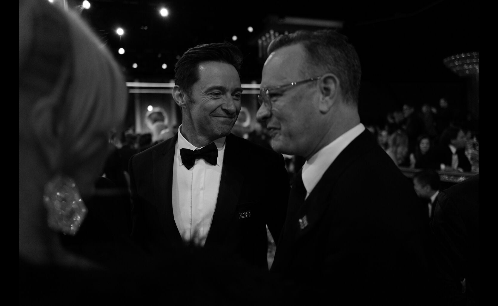 Hugh Jackman and Tom Hanks