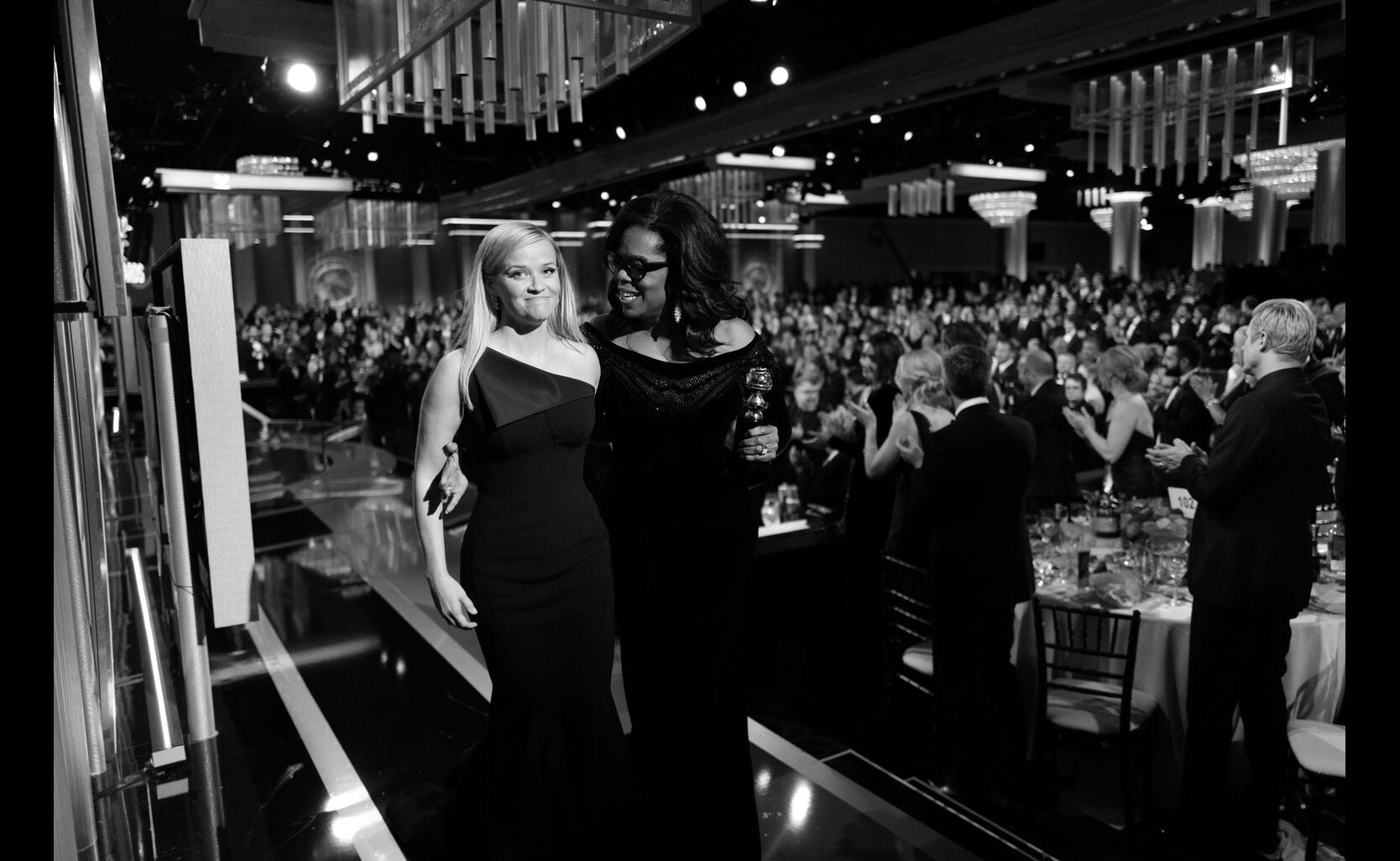 Reese Witherspoon and Oprah Winfrey
