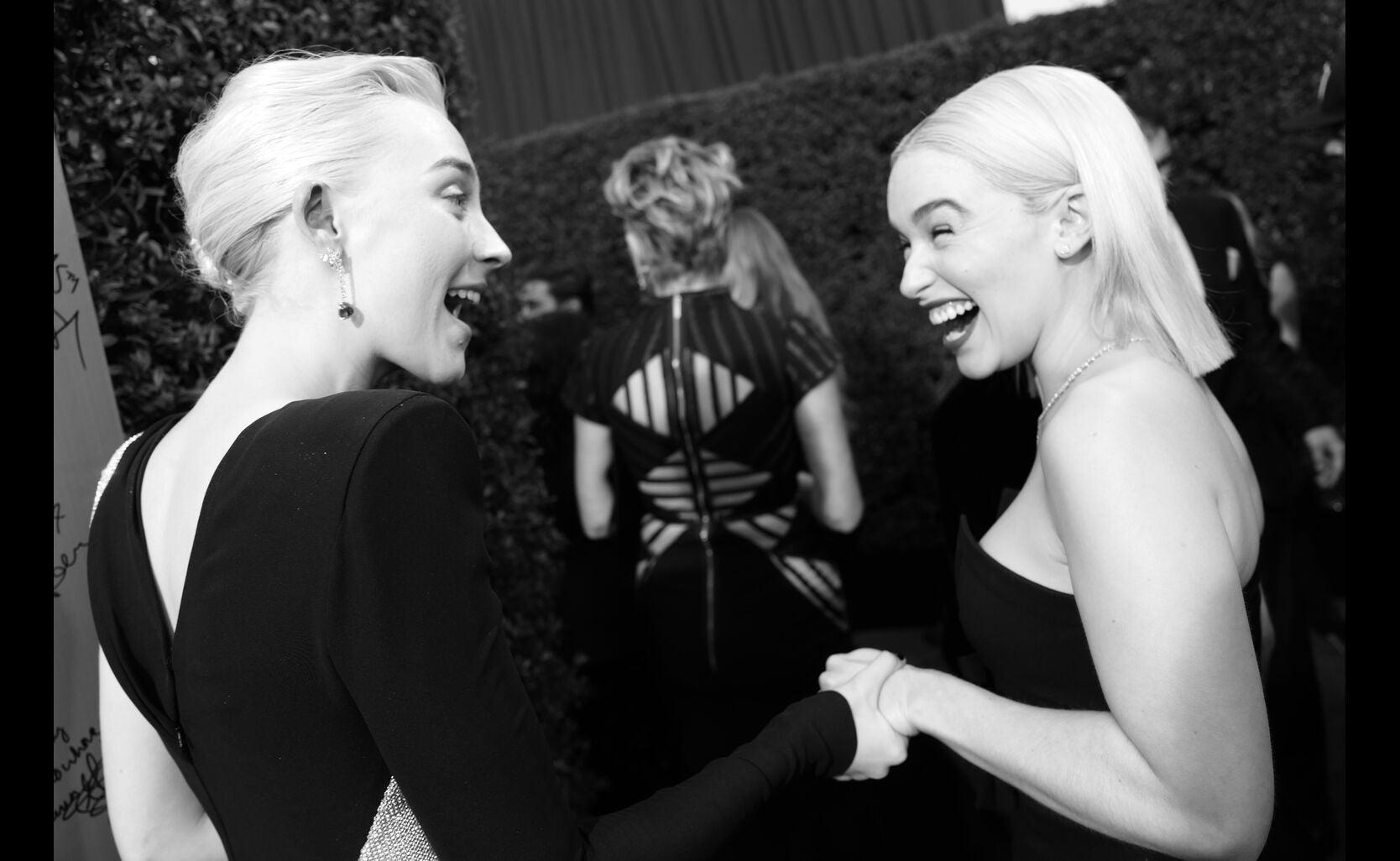 Saoirse Ronan and Emilia Clarke