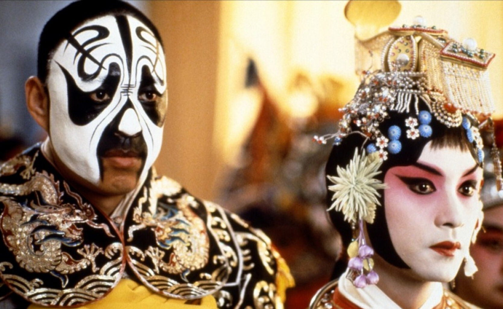 Scene from the film Farewell My Concubine