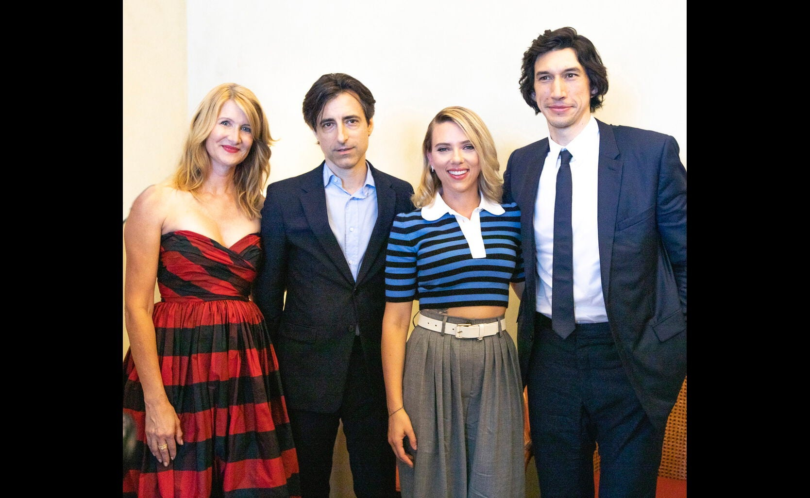 Cast and filmmaker of Marriage Story