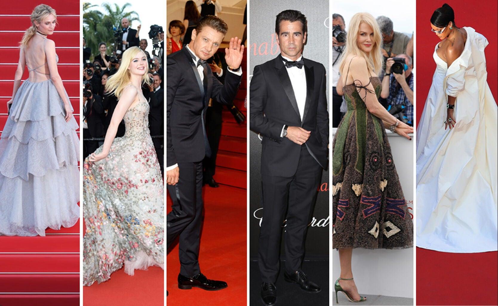 Diane Kruger, Elle Fanning, Jeremy Renner, Colin Farrell, Nicole Kidman and Rihanna