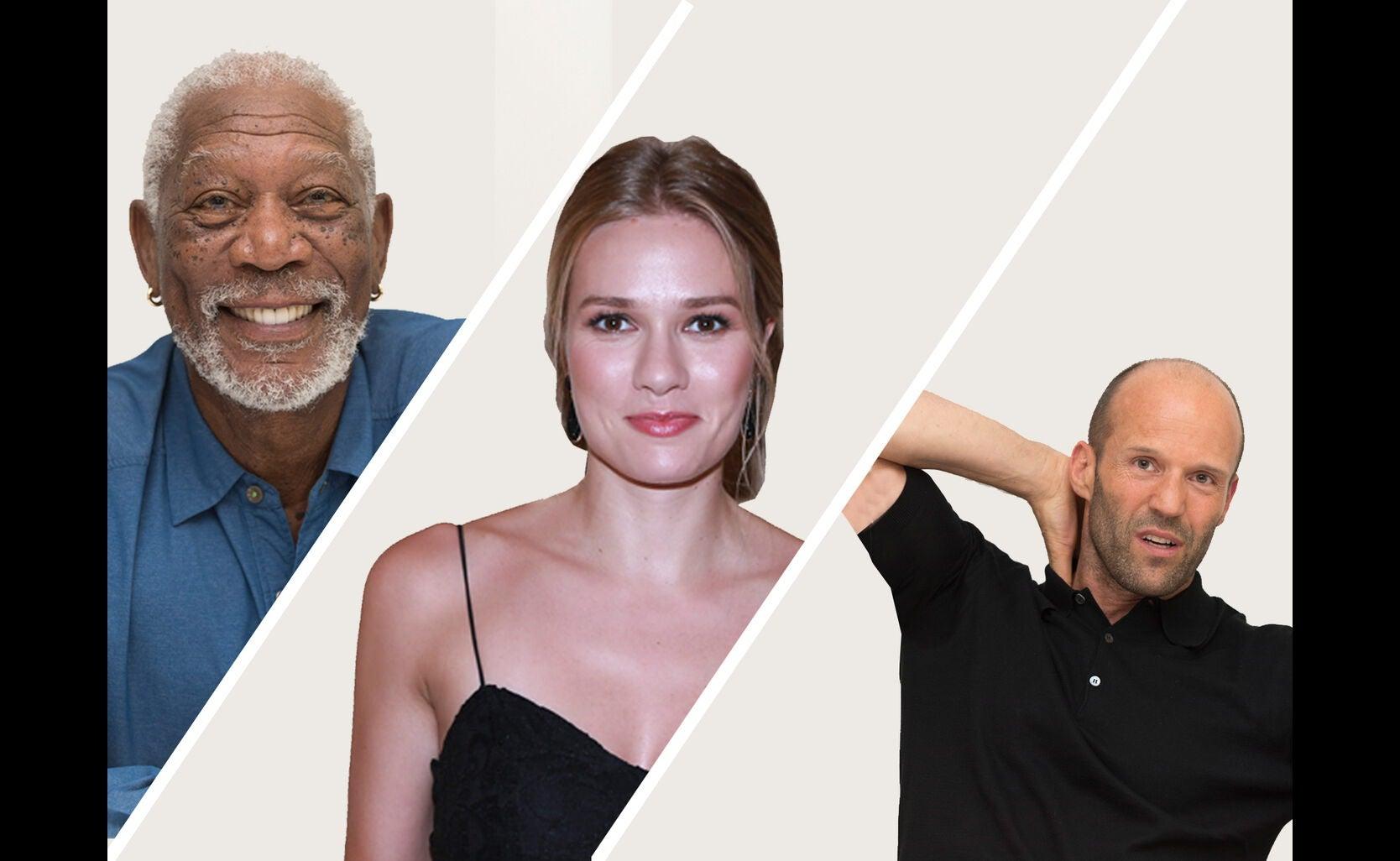 Morgan Freeman, Tori Anderson and Jaston Statham