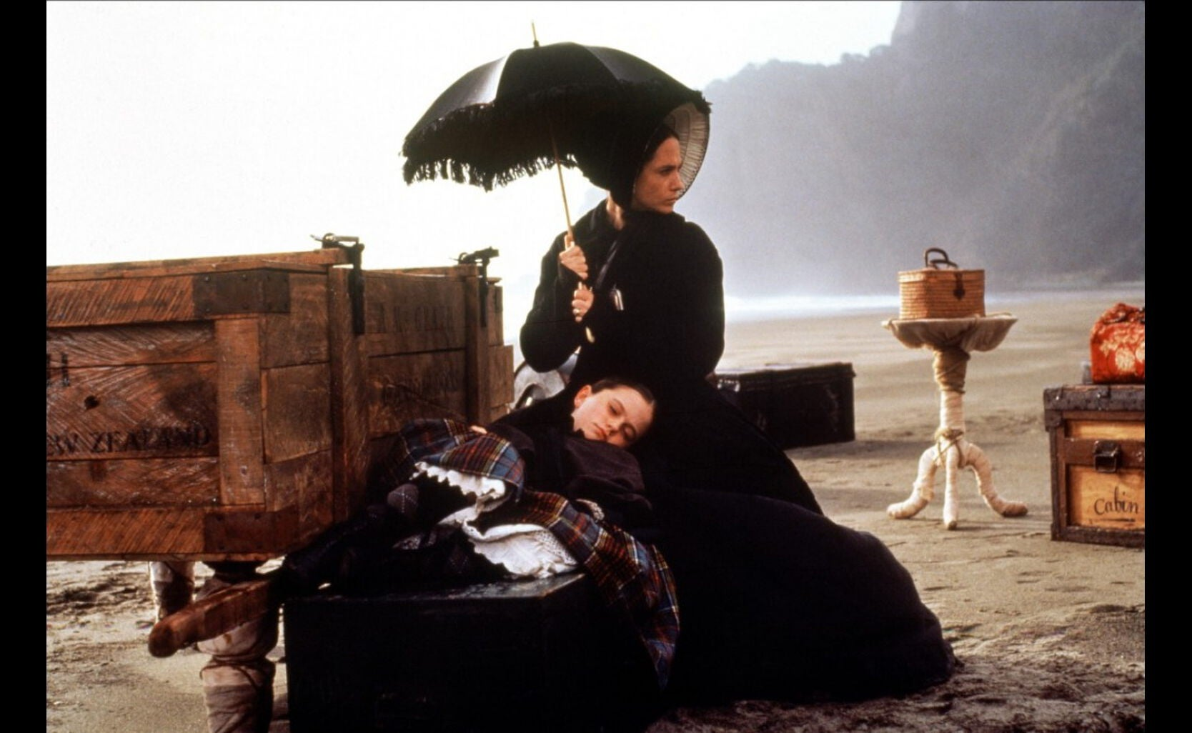 "Scene from the film ""The Piano"""