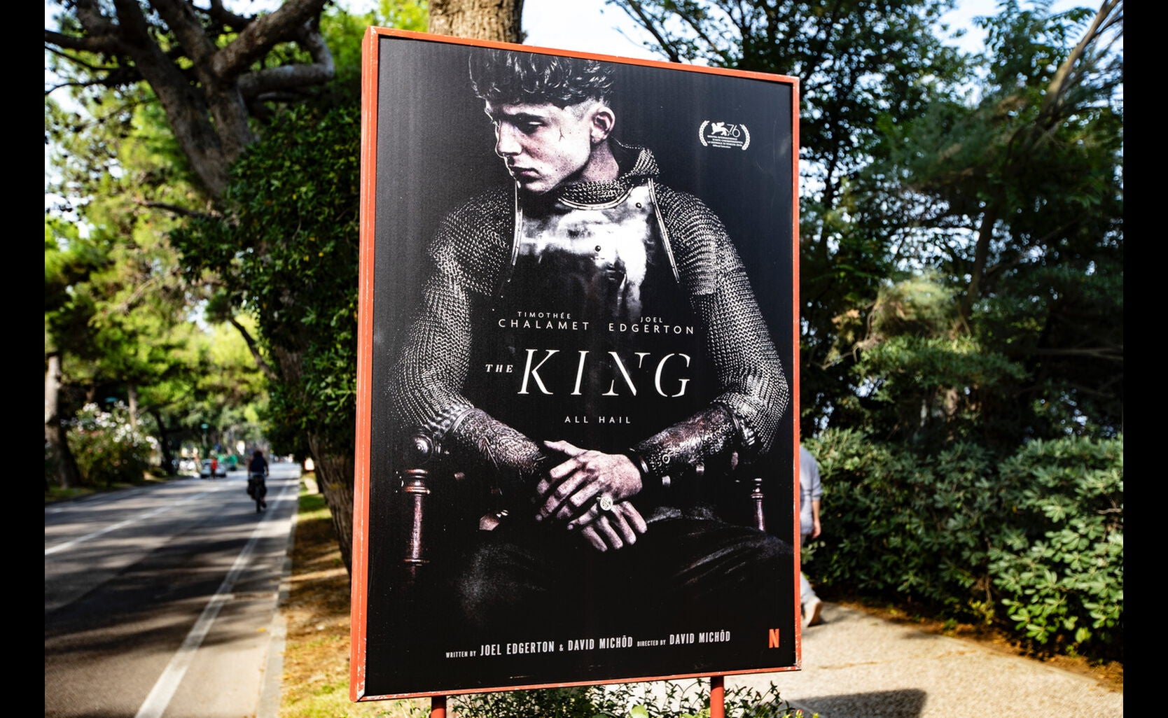 POster for the film The King, 2019