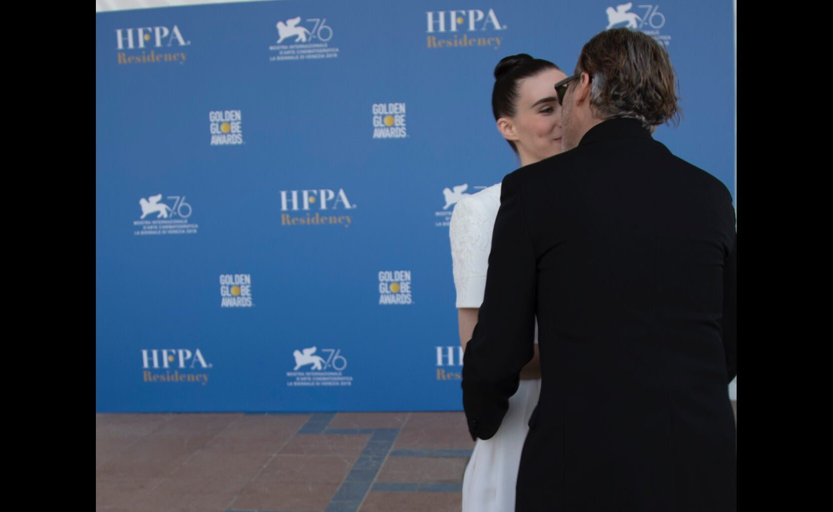 Joaquin Phoneix and Rooney Mara in Venice 2019