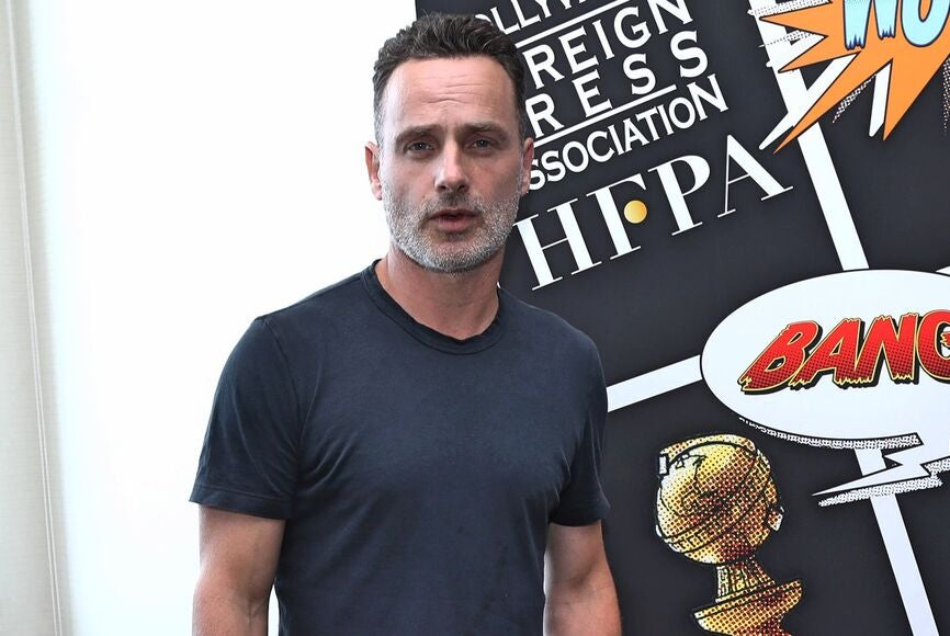 Actor Andrew LIncoln at Comic-Con 2018