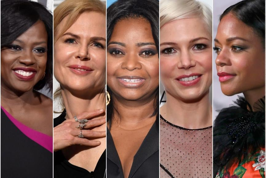 Resultado de imagem para golden globes 2017 supporting actress