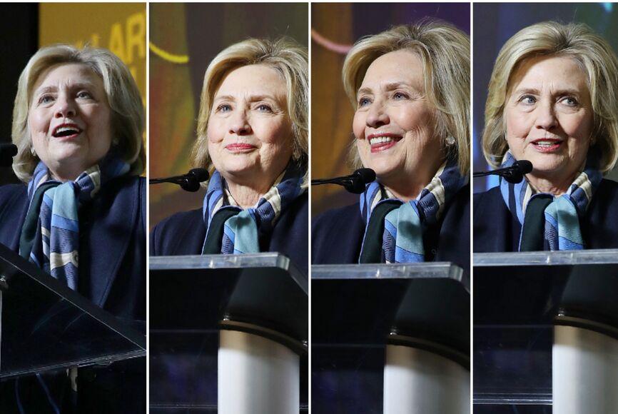 Hillary Rodham Clinton speaks at Sundance 2020
