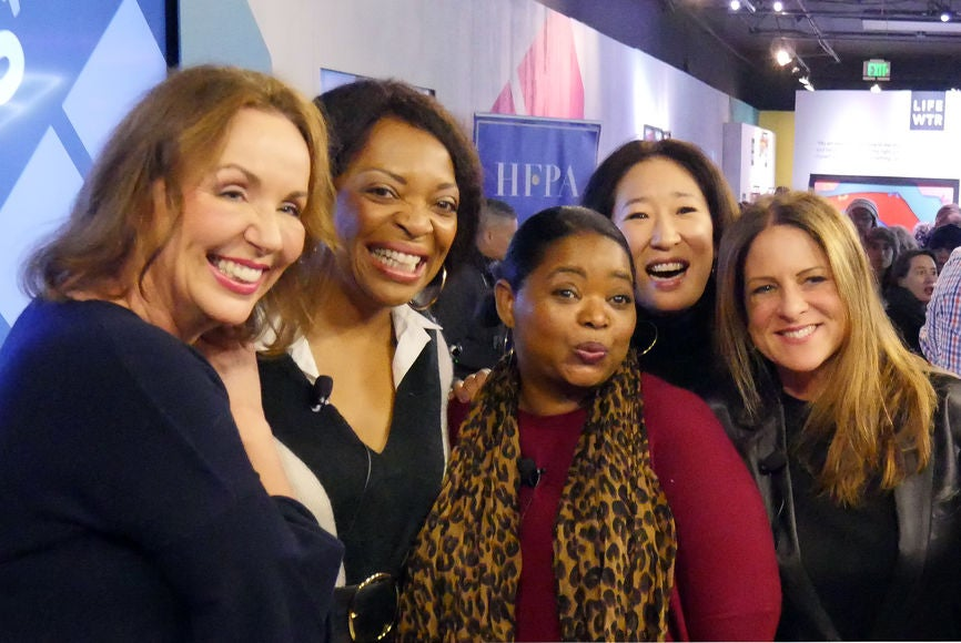 Elisabeth Sereda, Tina Lifford, Octavia Spencer, Sandra Oh and Cathy Schulman