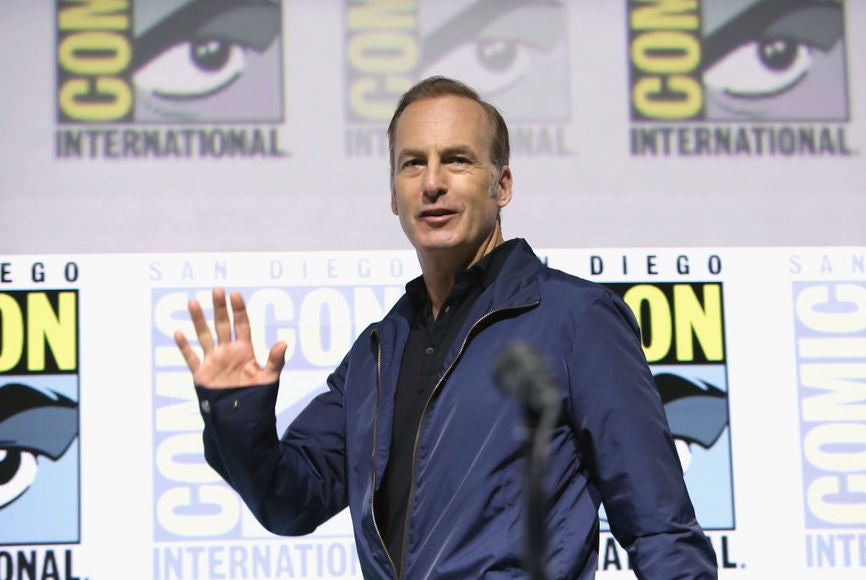 Actor Bob Odenkirk at Comic-Con 2018