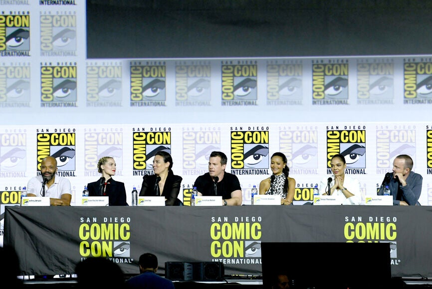 Westworld panel at Comic-Con 2019