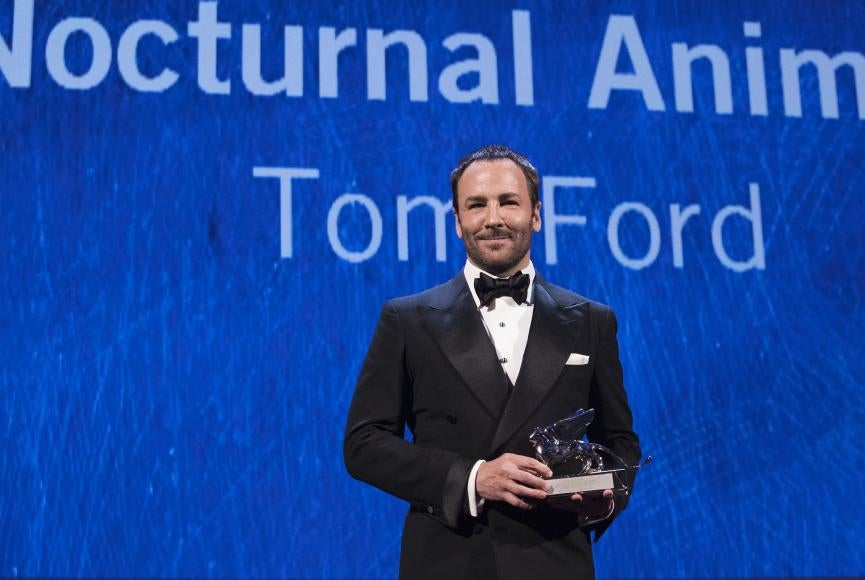 Director Tom Ford in Venice 2016