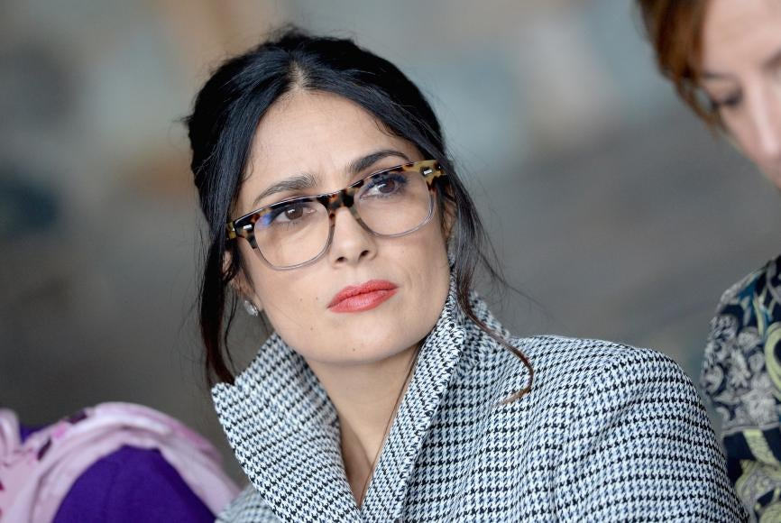 Salma Hayek at Sundance 2017