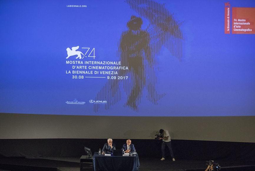 Biennale Paolo Baratta and Festival Director Alevrto Barbera announce the Venice Film Fetsival 2017