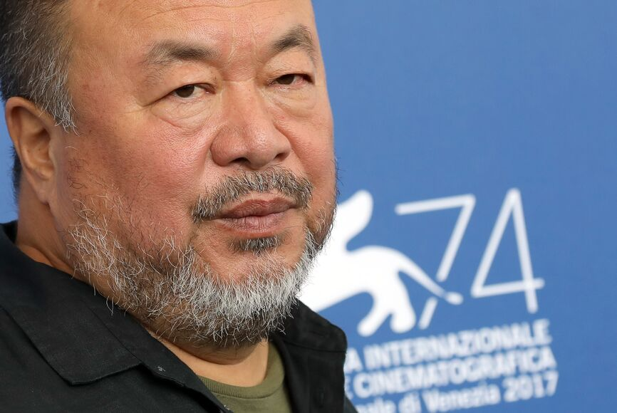 Artist and filmmaker Ai Wei Wei